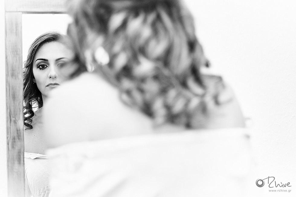 φωτογράφιση προετοιμασία νύφης