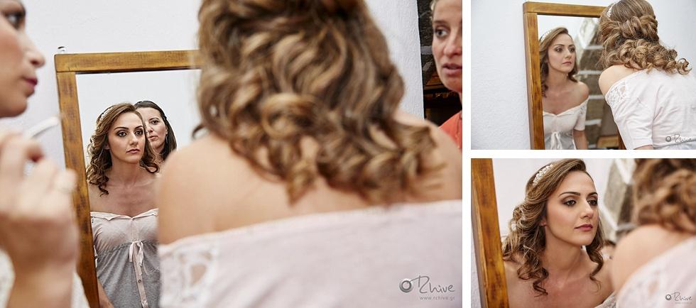 bride preparation milos