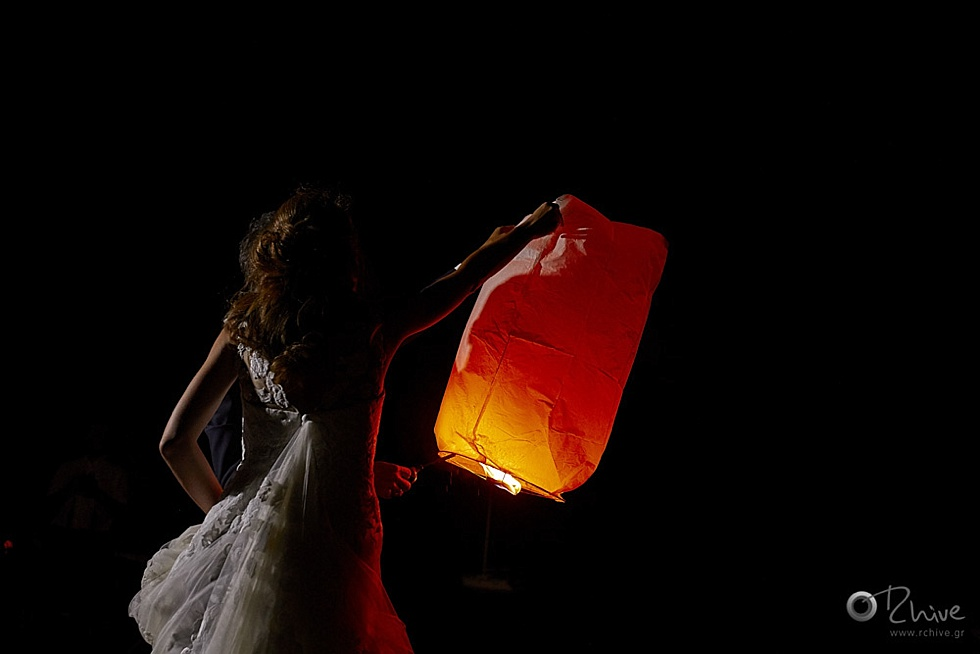 lantern wedding greece