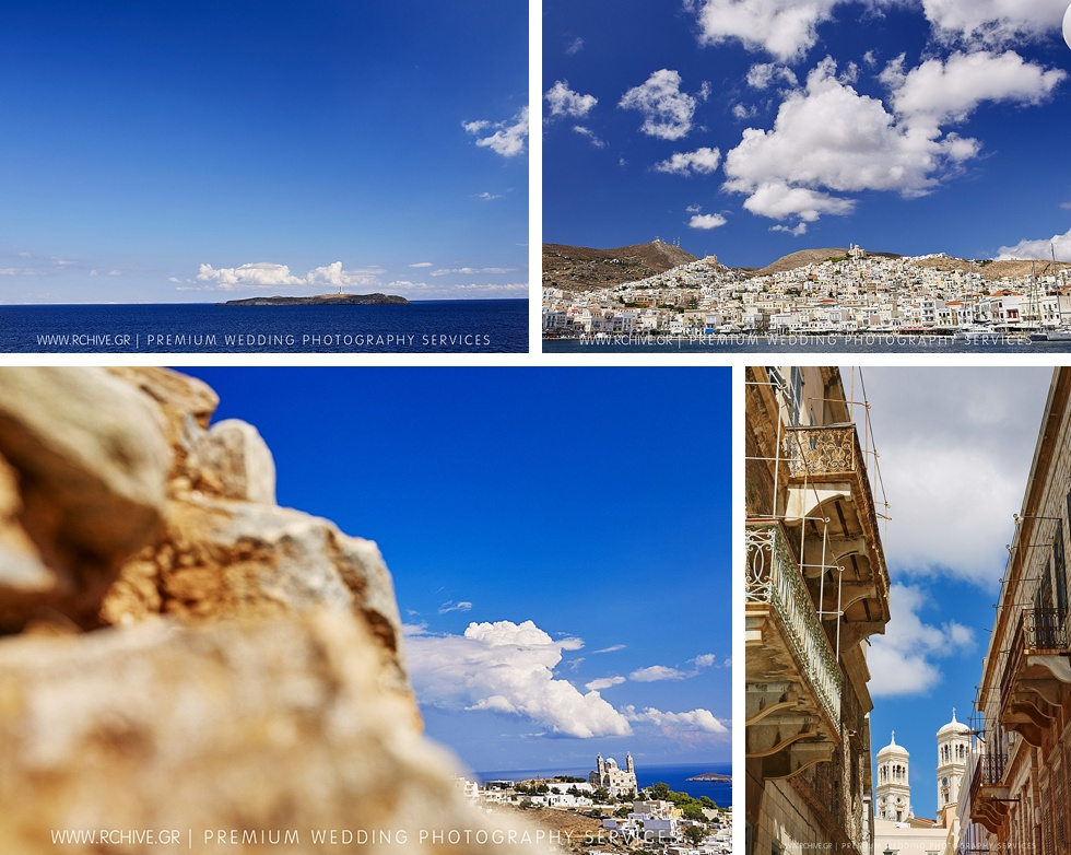 syros romantic wedding
