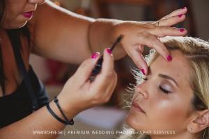make up bride symi