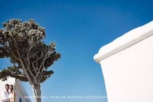 blue aegean wedding photography