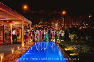 wedding reception island private house