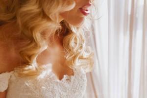 romantic wedding bride
