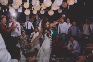 wedding party venue sifnos
