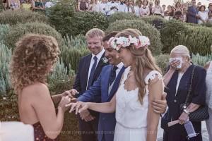 idyllic wedding greece