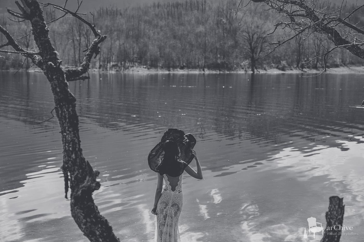Φωτογράφος γάμου λίμνη πλαστήρα
