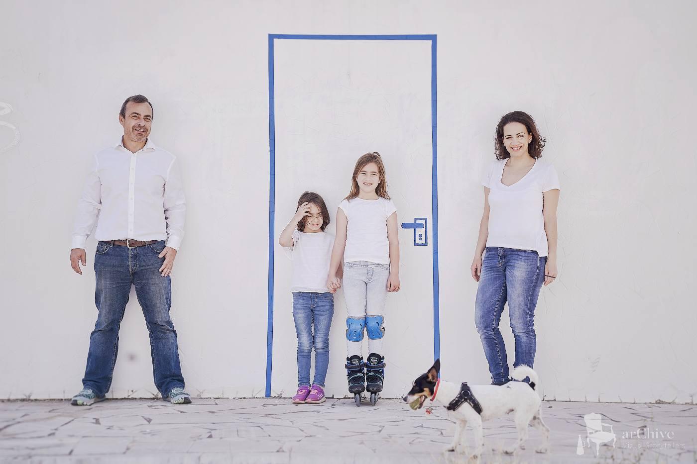 οικογενειακή φωτογράφιση