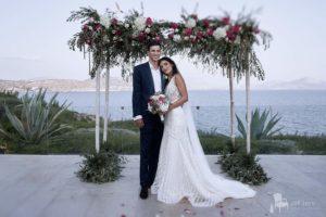 wedding photos island private house