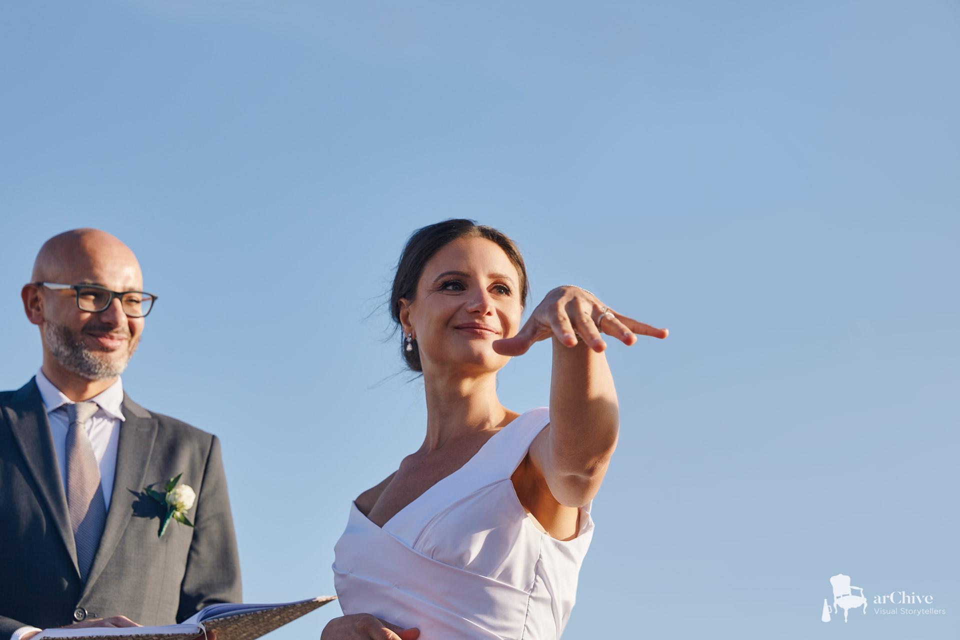 wedding ceremony villa mykonos