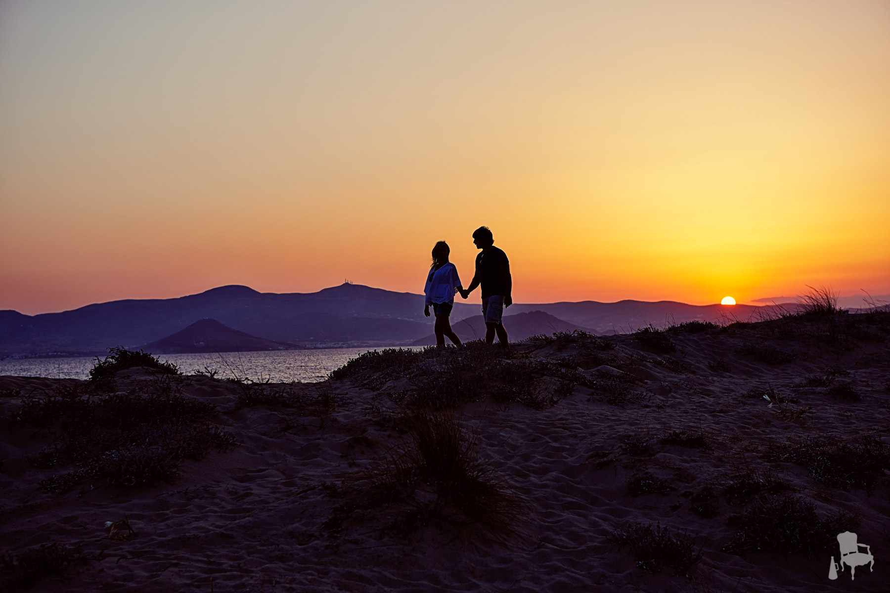 sunset wedding naxos