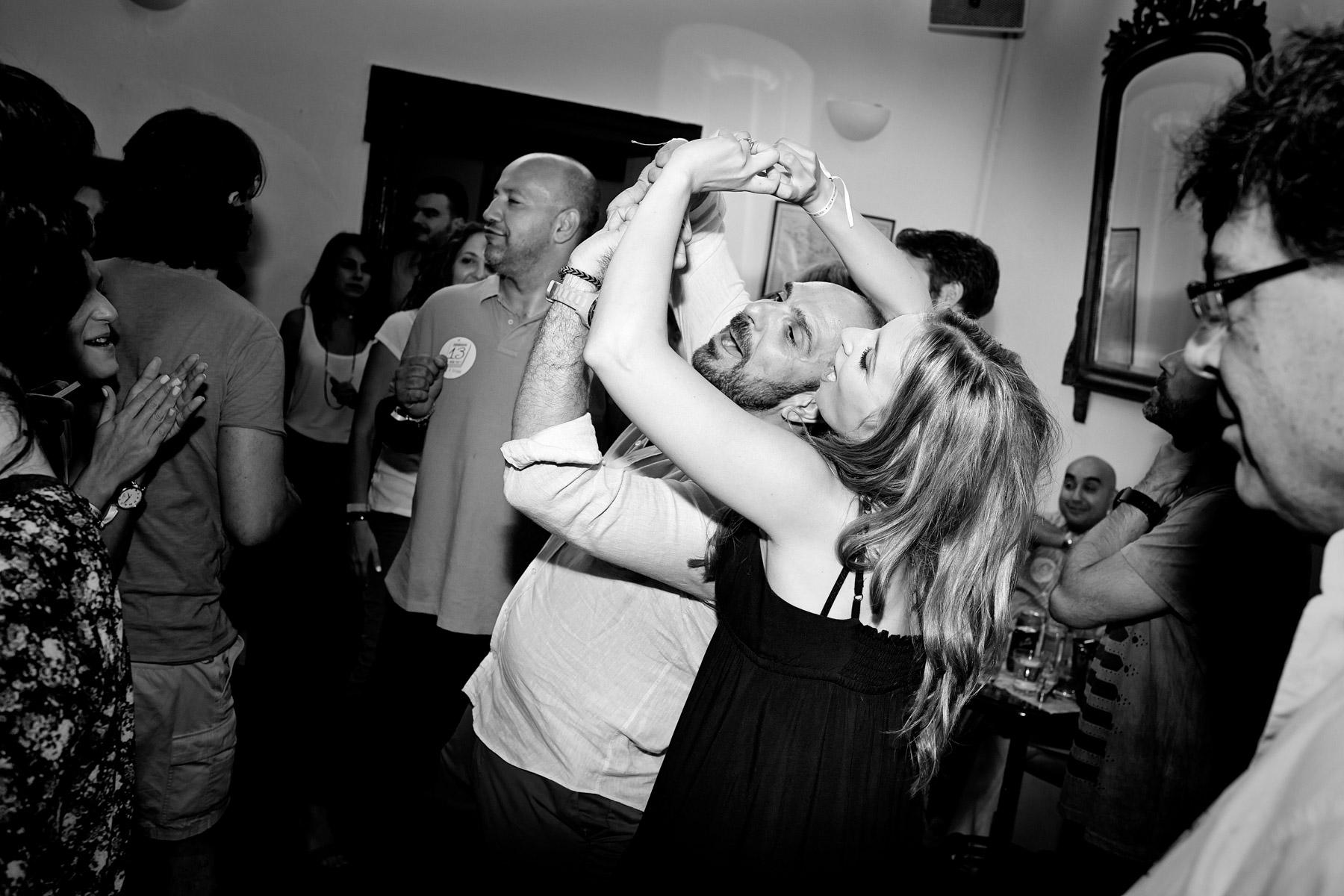 prewedding party sifnos