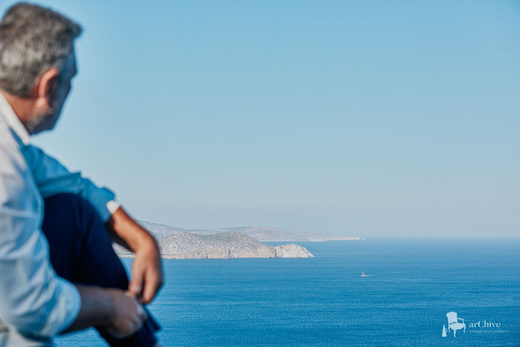 boat videographer greece