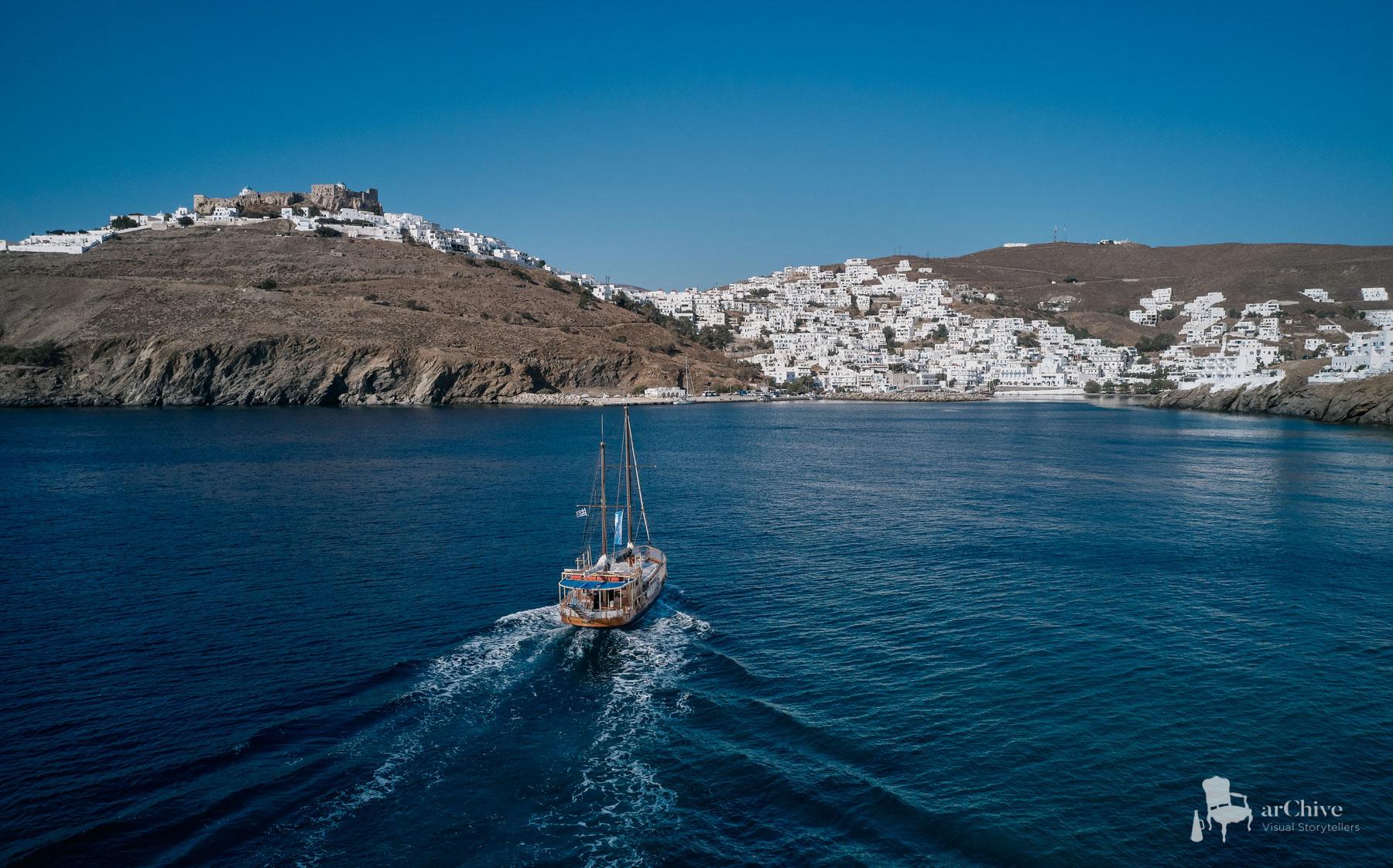 professional drone photos greece